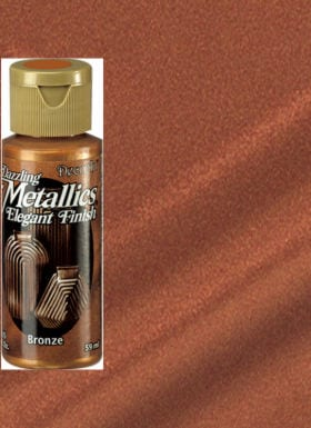Bronze Metallic Acrylic Paint