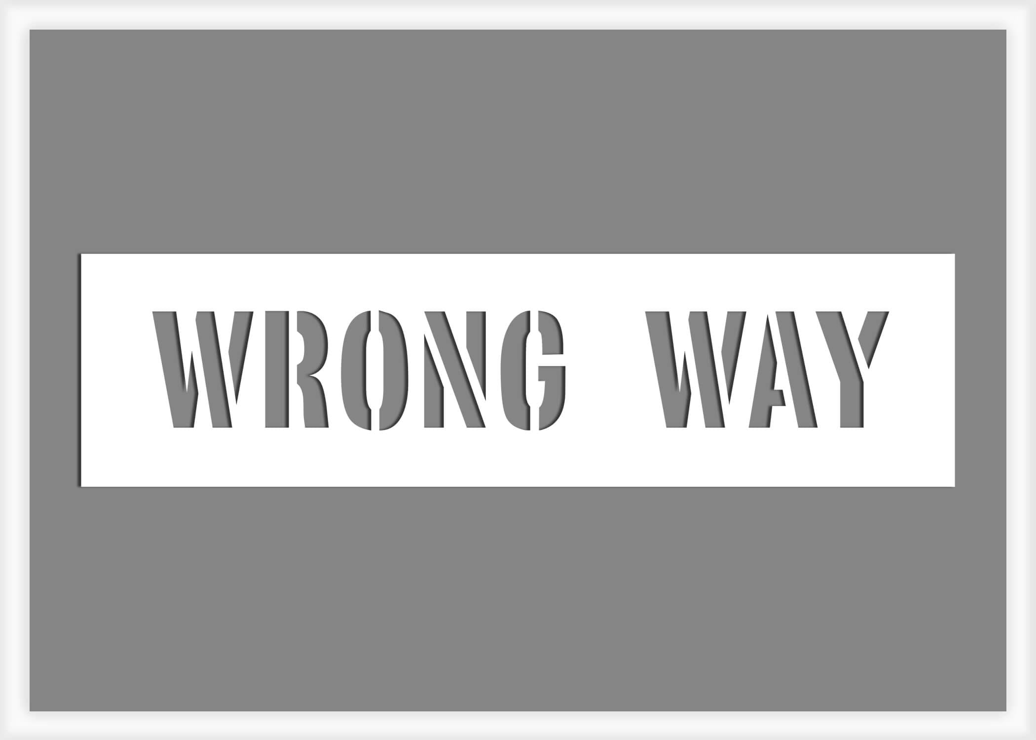 wrong-way-pavement-marking-stencil